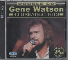 GENE WATSON 40 GREATEST HITS Farewell Party Paper Rosie Love In The NEW 2-CD Set