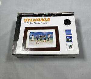 "New Sylvania SDPF787  7"" Digital Photo Frame LED Panel"