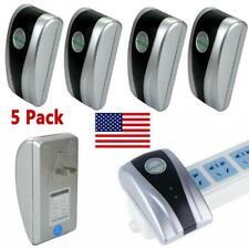 5 Pcs Power Saver Electricity Energy Saving Box Device Smart US Plug Household