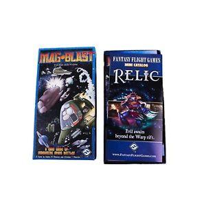 Mag Blast third edition card game by Fantasy Flight Games