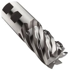 Niagara Cutter N68989 Cobalt Steel Square Nose End Mill, Inch, Uncoated (Bright)