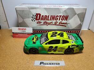 2019 William Byron #24 Autoguard Darlington Autograph 1:24 NASCAR Action MIB