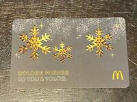 2016 McDonald's ARCH CARD GOLDEN WISHES COLLECTIBLE GIFT CARD (NCV) 276