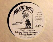 BEAT ME-KAN-IK - Pulse - Vinile 12 Mix - 1988 USA - RH004 - RARO