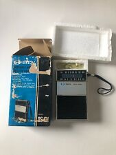 Vintage Dyn Electronics Pocket Radio Ds-131 Great Working Condition