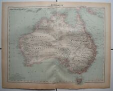 ▬► Carte Map - 🌍 AUSTRALIE - Australia - 1920