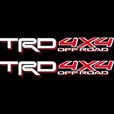 Toyota TRD 4x4 OFF ROAD Tacoma Tundra Sticker Decal 05