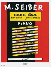 Leichte Tänze für Klavier vierhändig 1, M. Seiber - PORTOFREI VOM FACHHÄNDLER !