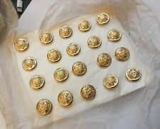 Gaunt London US USA American Army Card Gold / Gilt 16mm  Buttons