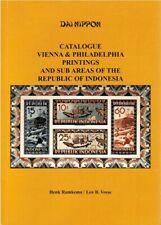 Dai Nippon Catalogue Vienna & Philadelphia Printings Republic of Indonesia
