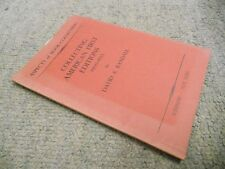 Aspects of Book-Collecting: Collection American First Editions 1900-1933