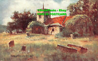 R435432 Chingford Old Church. Postcard