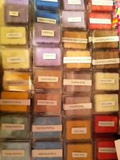 Pick 24 Soy Artisan Scented Wax Tart clam shell Warmer Melts Assorted scents!