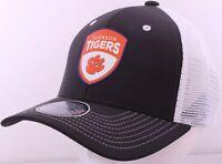 NEW Clemson University Tigers Black Mesh Patch Zephyr Snapback Cap Hat trucker