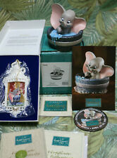 WDCC Dumbo SIMPLY ADORABLE with pin & 1995 ornament + Dumbo Event card NIB COA