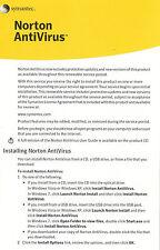 Norton AntiVirus 3PC 1 Year Product Key Card Free Upgrade