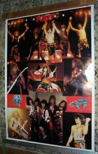 RATT HUGE Vintage Live Poster