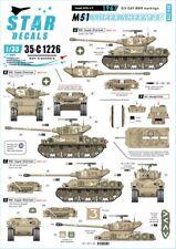 Star Decals 1/35 ISRAELI AFVs  #9 SIX DAY WAR M51 SUPER SHERMAN