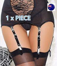 1PIECE Women Gothic Leg Thigh Syn Leather Stocking Belt Suspender brace Clipper