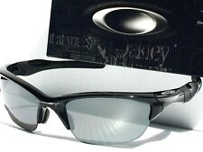 NEW* Oakley HALF JACKET 2.0 BLACK POLARIZlED BLack Iridium Len Sunglass  9144-04