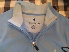 Payne Stewart Golf Sleeveless Pullover Men's Medium Light Blue New With Tags