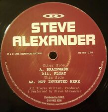 STEVE ALEXANDER - ISOMETRIC 1 - BRAINWASHED / FLOAT - REINFORCED - RIVET128
