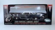 1:18 Highway 61 1963 Pontiac Lemans Sport Coupe - Dark Blue