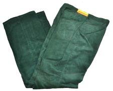 Vtg 1980's MAVERICK Women's Ribbed Corduroy Straight Leg Jeans Pants Green 20