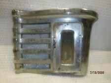 46/47/48 DESOTO FRONT GRILL CHROME PARK LIGHT SURROUND EXTENSION LH #1152026
