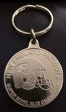 HIGHLAND MINT NEW ENGLAND PATRIOTS  SB 49 CHAMPIONS GOLD KEYCHAIN