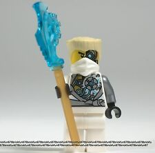 Lego New Ninjago Zane Rebooted Battle-scarred Minifigure w/ Blade sword 70724