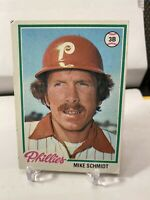 1978 Topps Mike Schmidt Phillies #360 Baseball