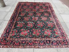 Old tradizionale fatto a mano Tappeto Persiano Orientale Lana Tappeto Grande Blu 286x196cm