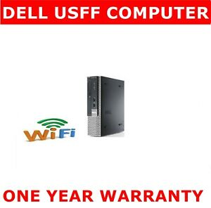 DELL i7  3rd Gen COMPUTER PC 16GB RAM  1TB SSD WINDOWS WIRELESS READY