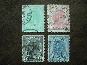Rumänien Mi.-Nr. 113-116 kpl. gest.