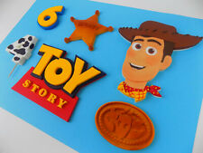 Handmade edible Toy Story cake topper birthday decoration shipping from UK