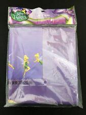"DISNEY Fairies Hallmark Tinkerbell Party Tablecloth Tablecover Purple 54"" X 84"""
