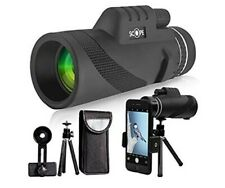 Monocular Telescope 10x Compact for Hunting Bird Watching Travelling Secenery