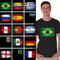 Soccer Shirts Men's Brazil 2018 Argentina 2018 Mexico Shirt Colombia 2018 Tshirt