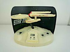 VINTAGE 1993 STAR TREK NCC-1701 USS ENTERPRISE WESCO ALARM CLOCK LIGHT & SOUNDS