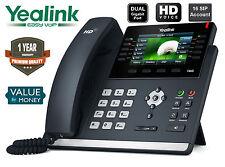 Yealink SIP-T46G IP Phone 16 SIP Ultra-Elegant Gigabit Colour Display IP Phone
