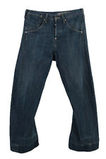 Vintage Levi's 501xx Red Lable Ripped Faded Unisex Jeans  W29 L30 Blue - J3524