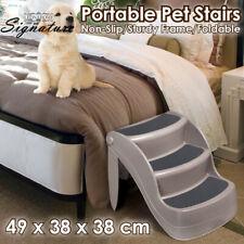 Pet Dog 3 Steps Stairs Ladder Cat Folding Washable Multi Ramp Portable Foldable
