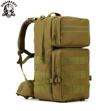 55L Tactical Army Military Bag Molle Backpack Rucksack Hiking Pack Outdoor Sport