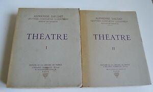 THEATRE 1 ET 2  A DAUDET LIBRAIRIE DE FRANCE 1930/1931 BE ILLUS