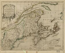 A4 Reprint of American Parks Islands Map Northern Usa