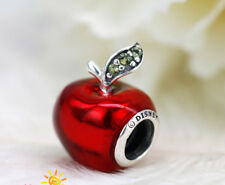 Genuine New Pandora Disney Snow White Apple Charm Red Enamel 791572EN73