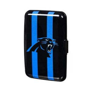 Carolina Panthers Hard Case Wallet Card Holder - Authentic NFL Product