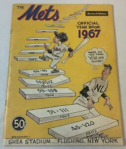 1967 NEW YORK METS YEARBOOK Revised Edition