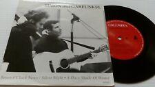 "Simon And Garfunkel – Seven O'Clock News / Silent Night 7"" Vinyl Single 1991"